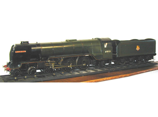Scratch built live steam 3¾in gauge 4-6-2 BR Lady Helen and 8-wheel tender