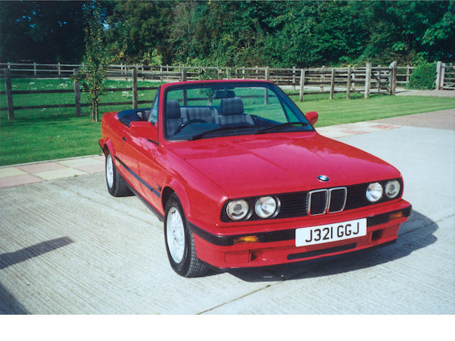 1992 BMW 318i Convertible WBABA52DX0EJ3556