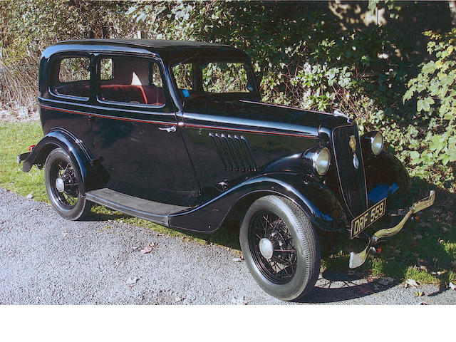 1936 Ford Model 19Y Popular Saloon Y11906