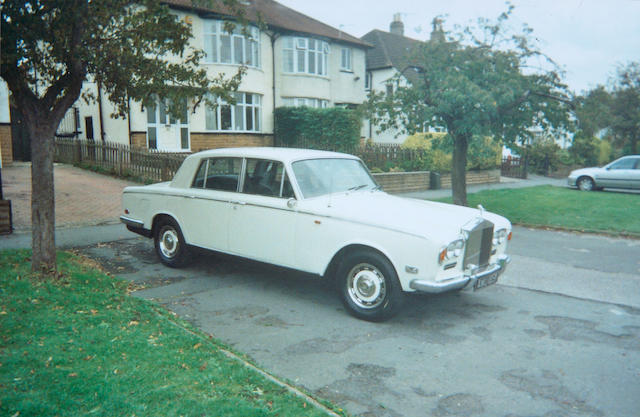 1971 Rolls-Royce Silver Shadow Saloon  Chassis no. SRH 11130 Engine no. 11130
