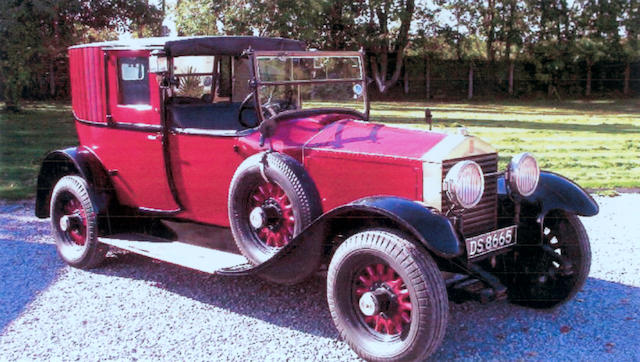 1927 Rolls-Royce 20hp Panel Brougham GAJ 15