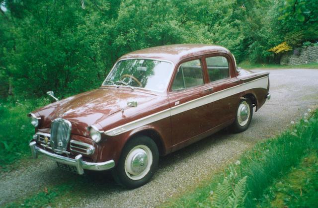 1963 Singer Gazelle MkIIIC Saloon B7162222HSO