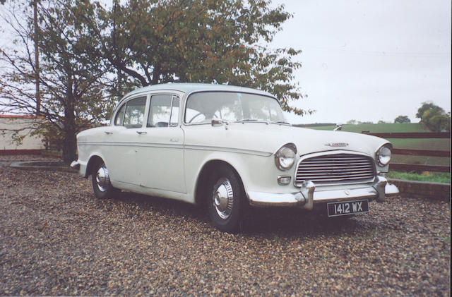 1960 Humber Hawk Series IA Saloon 25005727HSO