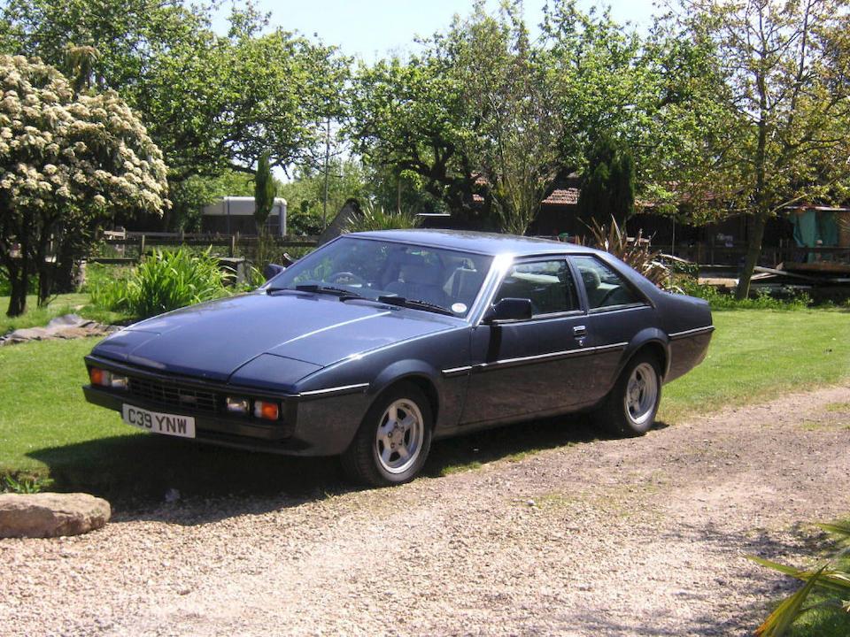 The ex-Earls Court Motor Show,1985 Bitter SC Coupé  Chassis no. WBJ426219FS390333 Engine no. T39E0012877R