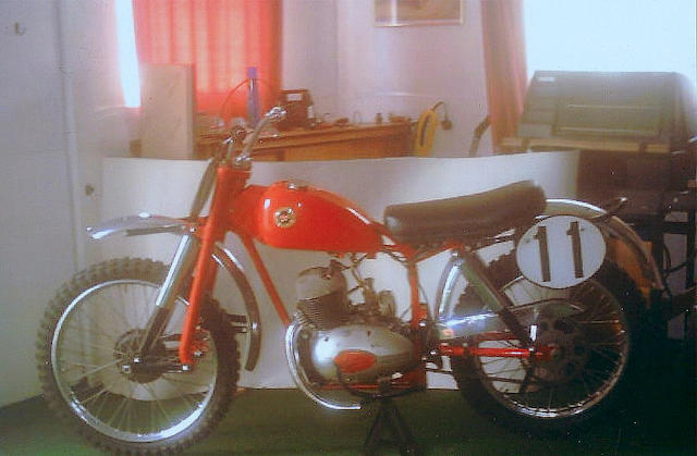 c.1959 DOT 250cc Scrambles Twin  Frame no. 600012 Engine no. 810B 5066