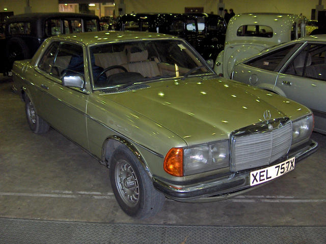 1982 Mercedes-Benz 280CEW Auto Coupé 12305322026022
