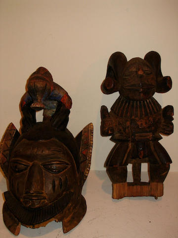 Three Yoruba Headresses 3