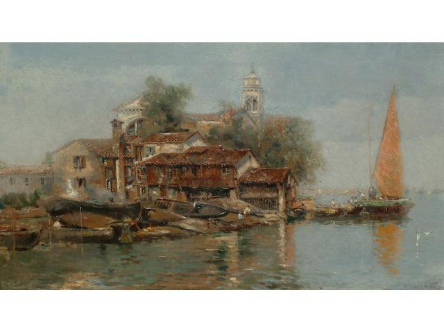A ** Reyon 'Venezia', 27 x 48cm (10 5/8 x 18 7/8in)