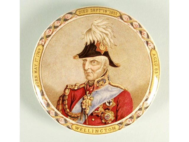 Wellington with Cocked Hat (lettering)