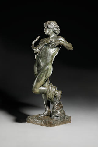 Robert Browning, Bronze figure of Dryope, 1883-196 x 66.5 x 61cm