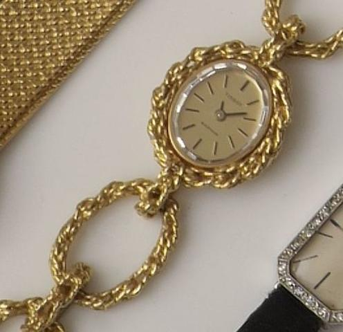 Tissot: A lady's wristwatch
