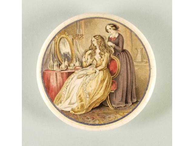 Dressing My Lady's Hair