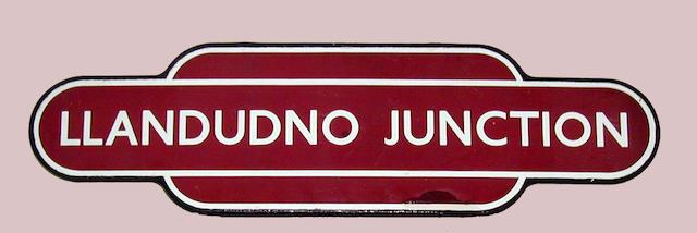 BR(M) Totem Llandudno Junction (ff)
