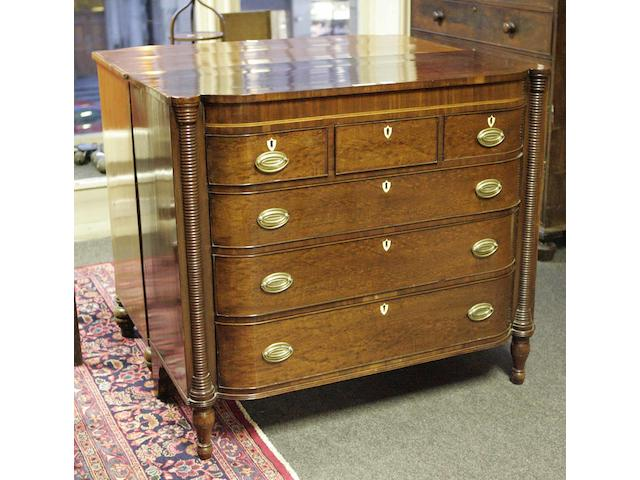 A George IV mahogany chest of drawers