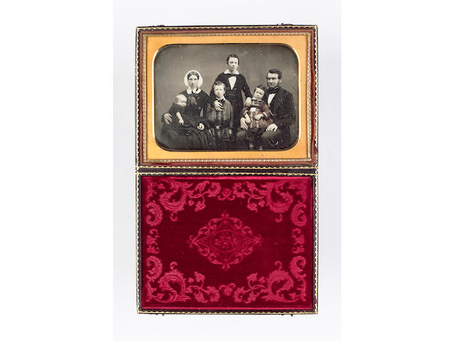PHOTOGRAPHS A collection of 4 daguerreotypes and 4 ambrotypes