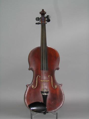 A Mirecourt Violin by JTL  circa 1900