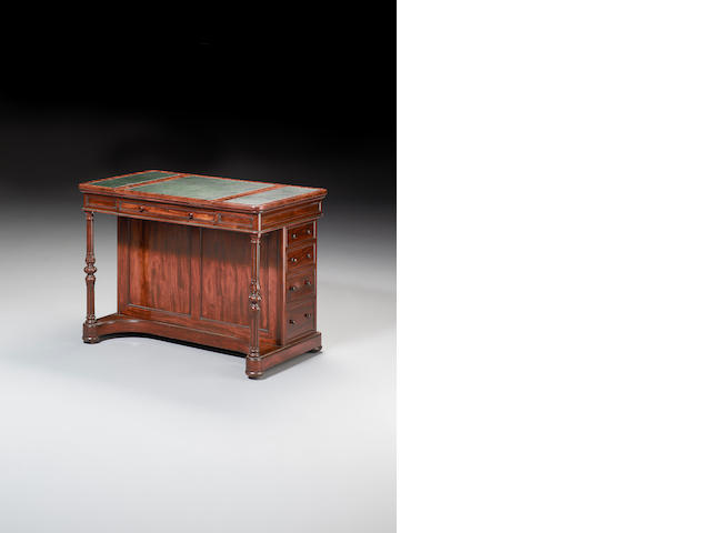A William IV mahogany Draughtsman's Table