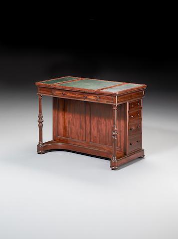 A William IV mahogany Draughtsman's Table