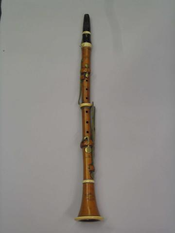 A good boxwood and ivory Clarinet by D'Almaine & Co circa 1840