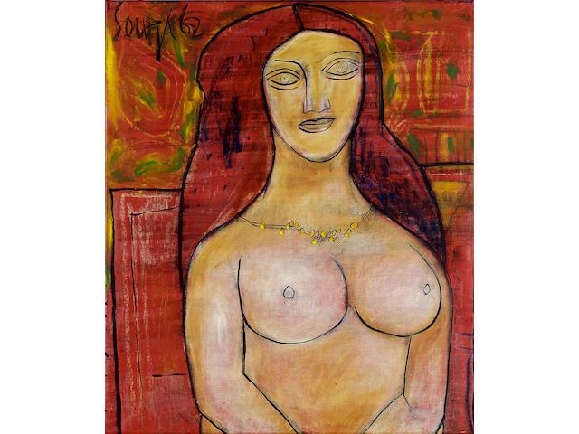 Francis Newton Souza, Nude Woman