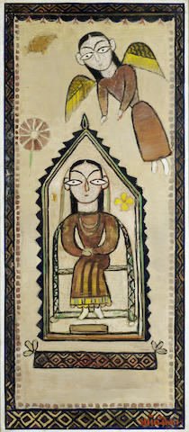 Jamini Roy (India, 1887-1972) The Annunciation