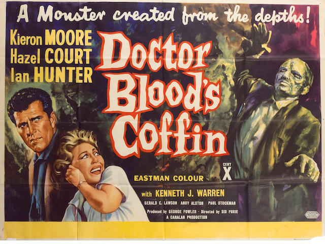 Dr. Bloods Coffin 1961 UK Quad