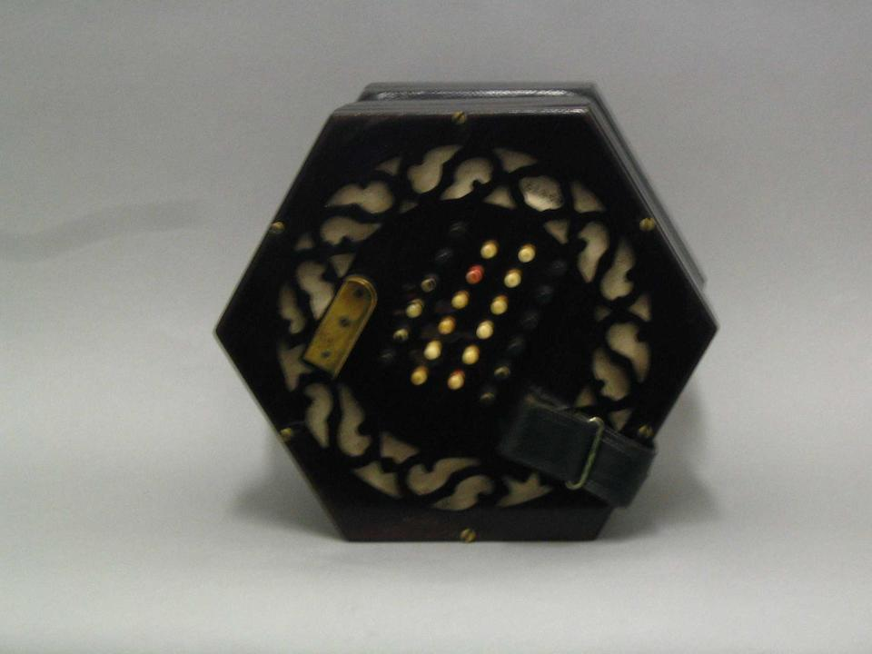 A good English Concertina by Lachenal and Co. London no.51268