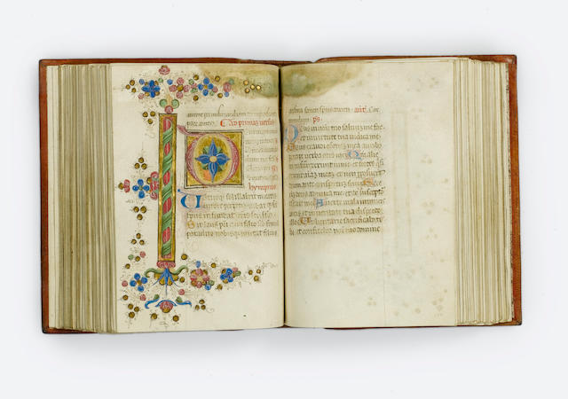 BOOK OF HOURS, use of Rome [North Eastern Italy, final quarter of the fifteenth century]