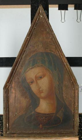 Italian School, 20th Century The Madonna, 48 x 27.7cm (18 7/8 x 10 7/8in)