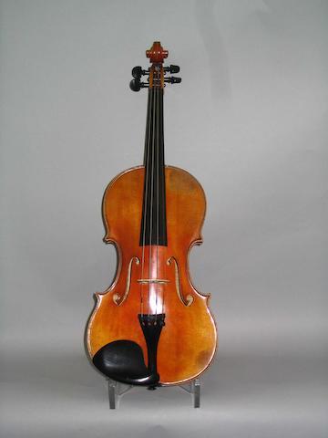 A good Dutch Violin by Johann Stuber, den Haag, 1930