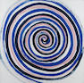 Sir Terry Frost R.A. (1915-2003) Spiral 1996 63 x 63 cm. (24 3/4 x 24 3/4 in.) (unframed)