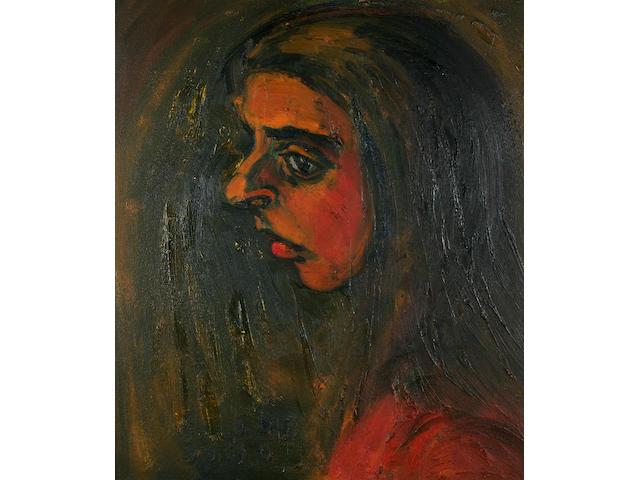 "Theodore Major (1908-1999) ""Lancashire woman"", 65 x 55cm."