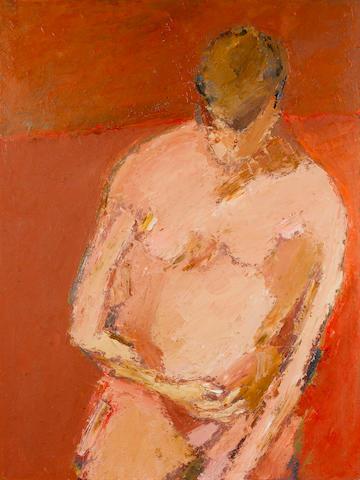 Tyeb Mehta (India, b. 1925) Pink Figure