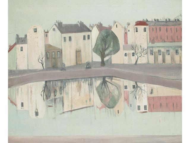 Pauline Bewick (British, b.1935) Limerick unframed 51 x 61cm (20 x 24in)