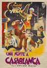 Night in Casablanca 1946 Italian Four Folio