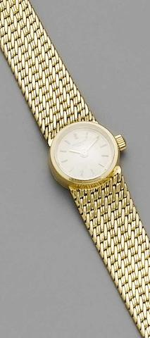 Patek Philippe. An 18ct gold ladies bracelet watch Ref:3266, 1960s