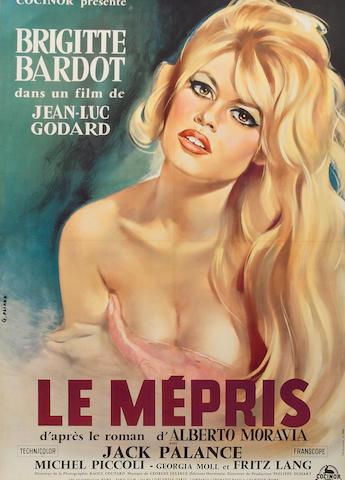 Les Mepris 1963 French Affiche