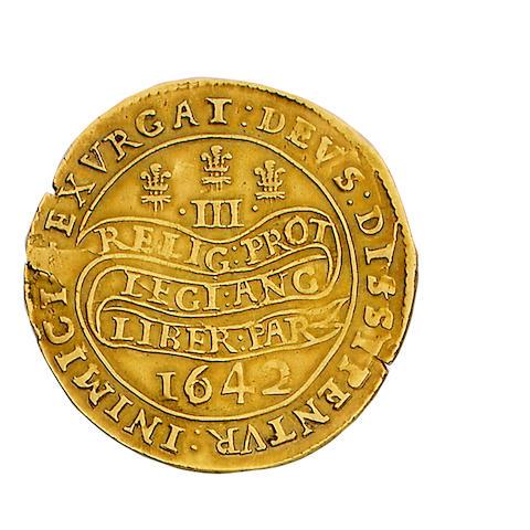 Charles I, Triple unite,