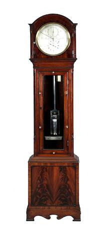 A fine mahogany longcase regulator, Robert Roskell No.986, Liverpool, circa 1820,