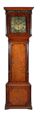 An oak and mahogany crossbanded longcase clock, William Lawson, Newton, circa 1775,