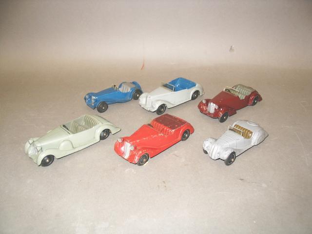 Dinky 38 series cars, 6