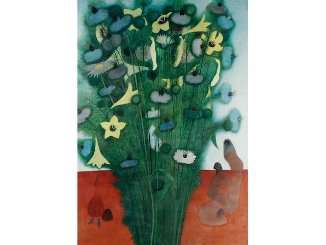 Edward Burra (1905-1976) Bouquet 104 x 73 cm. (41 x 28 3/4 in.)