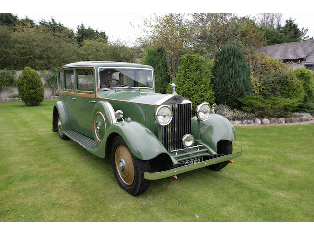 The ex-Harrods Courtesy Car,1934 Rolls-Royce 20/25hp Limousine  Chassis no. GYD54 Engine no. T3Z