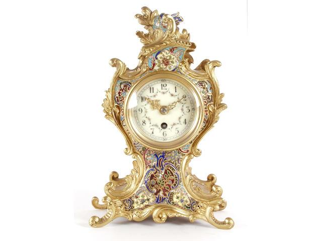 A 19th Century enamel timepiece