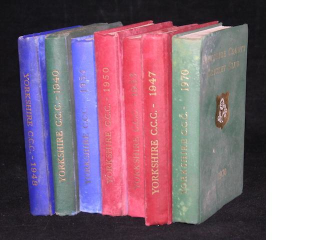 Yorkshire handbooks
