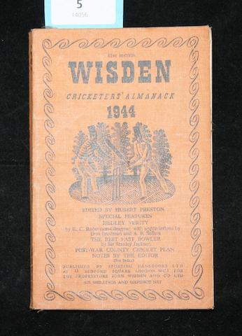 Wisden Cricketers' Almanack, 1944