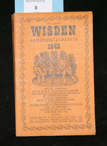 Wisden Cricketers' Almanack - 1942