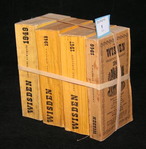 Wisden Cricketers' Almanack - 1946 to 1949