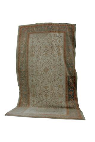 A large Ushak carpet circa 1950, 32 ft 3 in x 17 ft 1 in (983 x 521 cm)