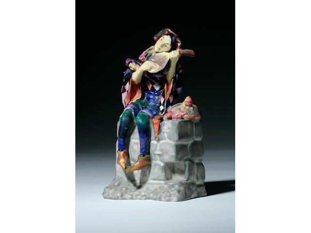Figurines A Royal Doulton figure Wandering Minstrel